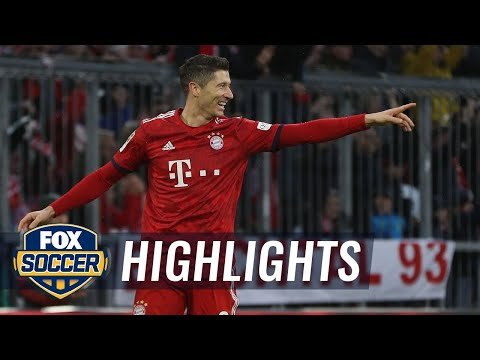 Robert Lewandowski gives Bayern Munich the victory vs. Nurnberg | 2018-19 Bundesliga Highlights Mp3