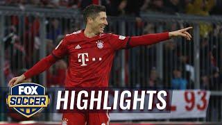 Robert Lewandowski gives Bayern Munich the victory vs. Nurnberg | 2018-19 Bundesliga Highlights