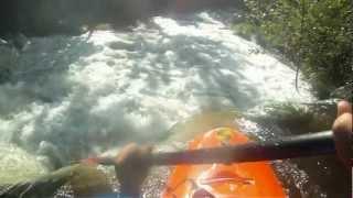 Baronet Brothers kayak in Rio  Stª Rita Fafe 2012- Eu Vou