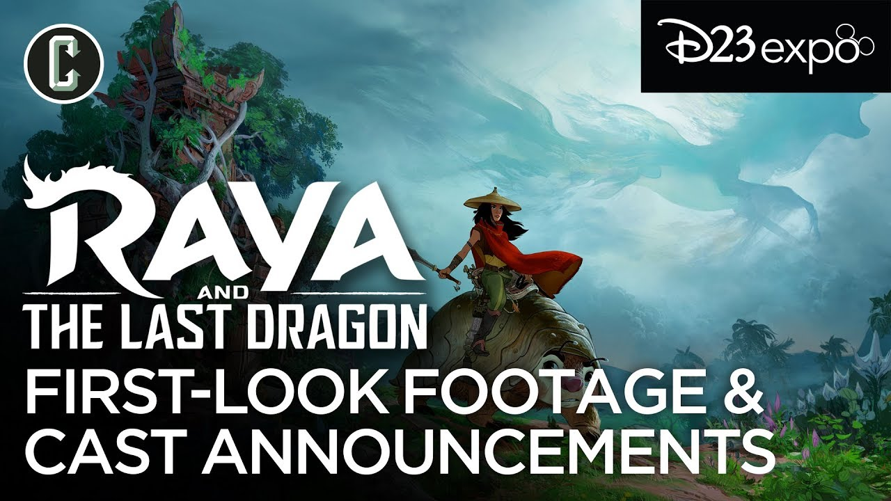 First Look Footage: Disney's Raya and the Last Dragon (D23 ...
