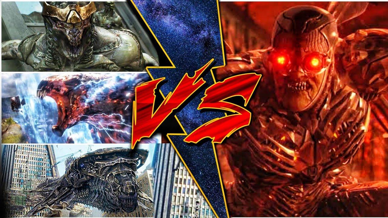 Thanos Army vs Darkseid Army, Parademons vs Outriders, Chittuari, Levithans (SUPERBATTLE)