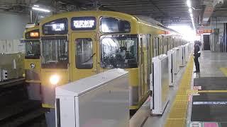 西武新宿線新2000系所沢駅発車※2番線新発車メロディー「さんぽ」あり