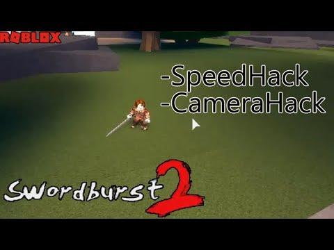 ROBLOX - Swordburst 2 - Speed Hack / Camera Hack (work new codes 7/11/2019)