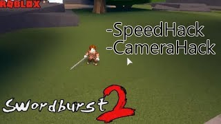 ROBLOX - Swordburst 2 - Speed Hack / Camera Hack (work new codes 3/28/2019)