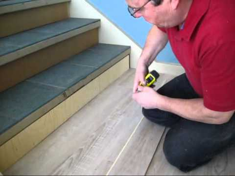 TORLYS Stair Tread Flooring Install   EverWood   YouTube