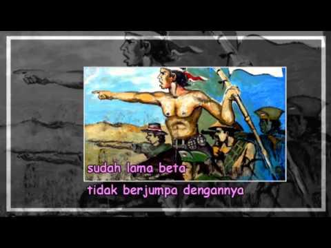 Lagu Perjuangan / Lagu Wajib - Halo Bandung (lirik) (SMA N 1 DEMAK )