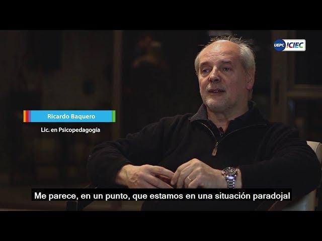 Entrevista a Ricardo Baquero en UEPC
