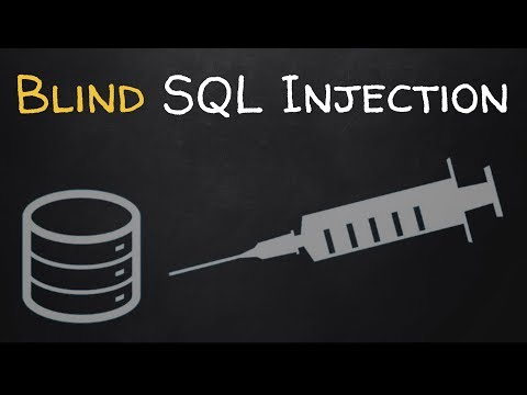 How To Discover & Exploit Blind SQL Injections