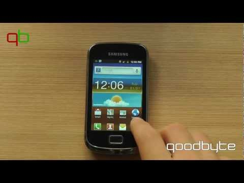 [goodbyte.tv] Samsung Galaxy mini 2 - Unboxing/Quick hands-on [greek]