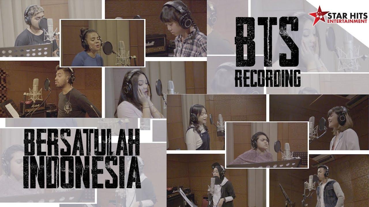 BTS Recording Bersatulah Indonesia