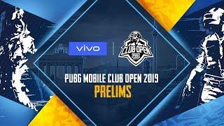 En Pmco 2019 Prelims Day 1  Vivo  Pubg Mobile Club Open