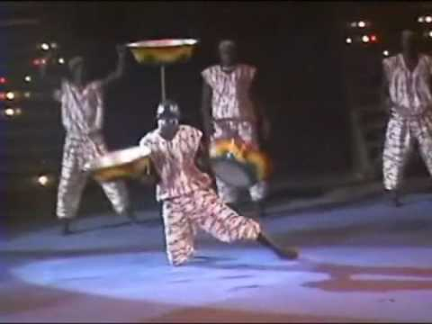Circus Circus Agency presents : African  acrobats from Ghana (happy acrobatics)