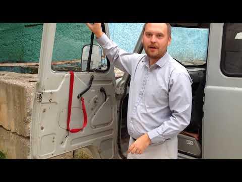 Работа самодельного стеклоподъёмника на УАЗ Буханка