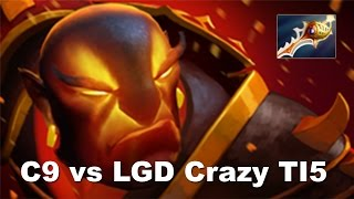 C9 LGD - Top 10 Difference Comeback Crazy Game TI5 Dota 2