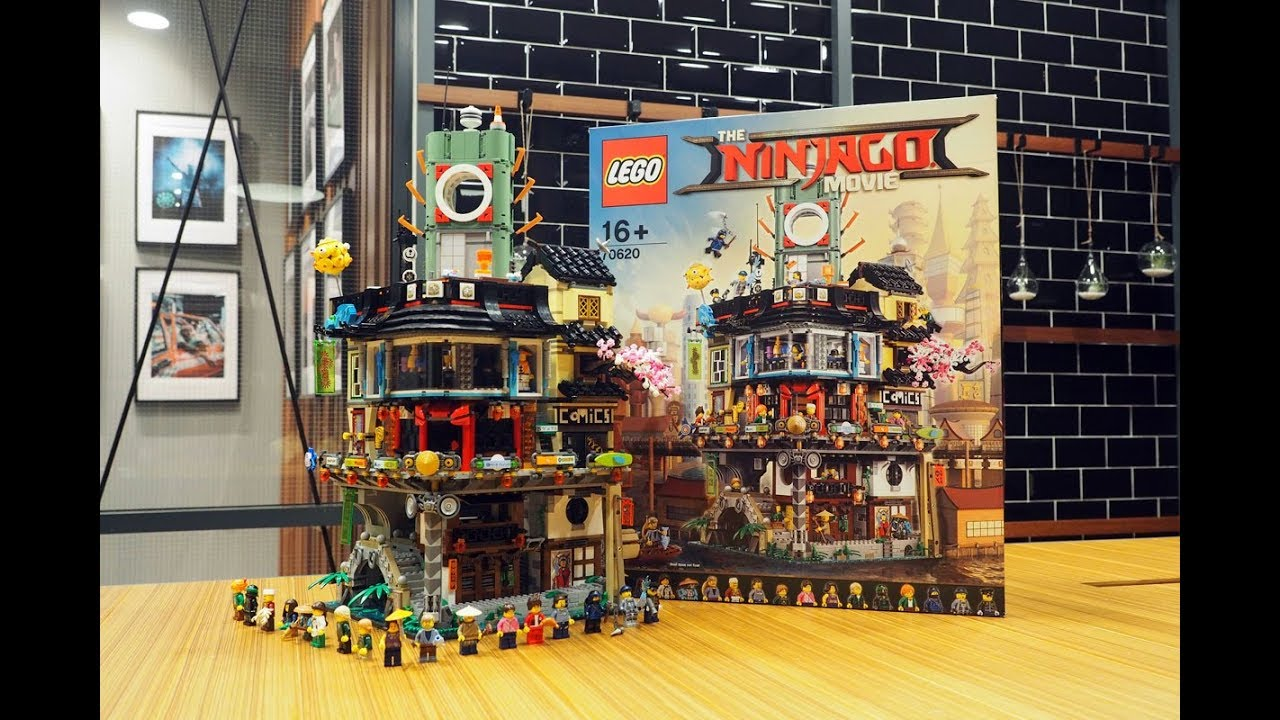 The Lego Ninjago Movie Ninjago City 70620 Speed Build