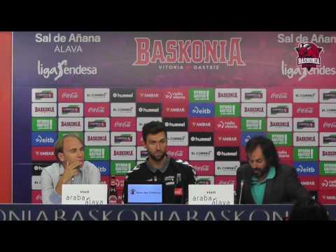 Presentación Andrea Bargnani