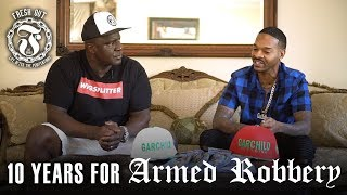 10 years for Armed Robbery - Garchild - Fresh Out Interviews