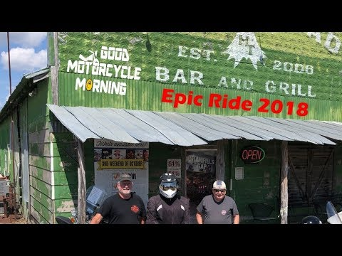 Twisted Sisters / Ric / Horny Toad Bar & Grill - Epic Ride 2018 - S04E26 - Good Motorcycle Morning