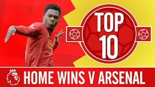 Top 10: Best Anfield wins against Arsenal