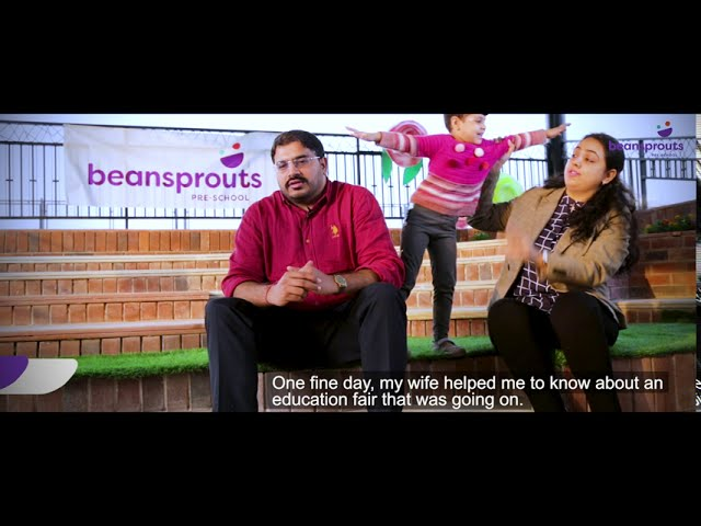 Choosing Beansprouts | Parent Testimonial | Mr. & Mrs. Abhinav Chaddha