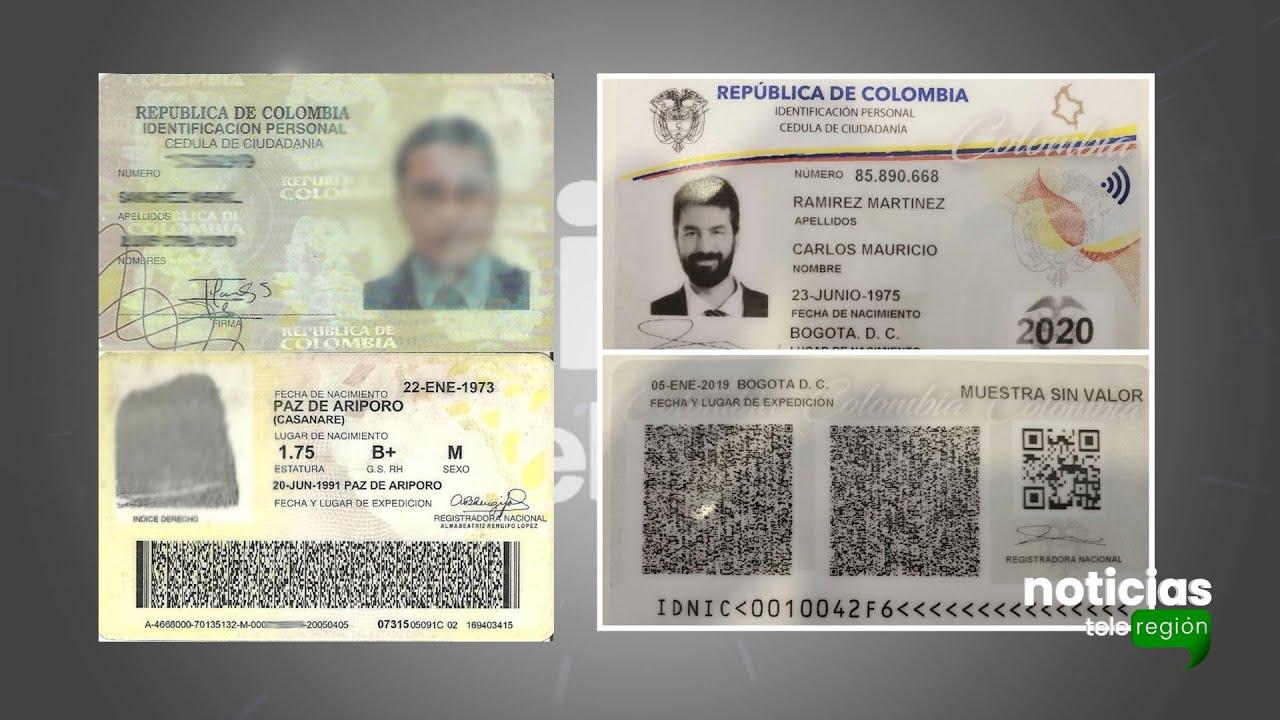 Nueva cédula de ciudadanía colombiana - YouTube