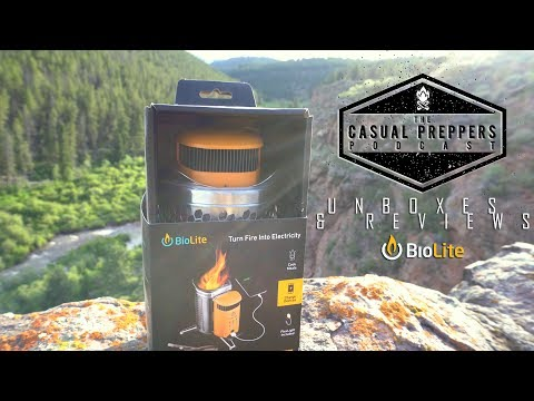 Biolite Campstove 2 - Unboxing and Review