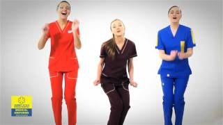 видео Медицинские брюки и штаны Доктор Стиль дешево