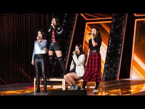 Mazinga'S, amazing stage 'I Will Survive' 마진가S - 난 괜찮아《KPOP STAR 5》K팝스타5 EP12