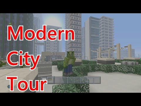 Minecraft Xbox: Sith Lantis CITY TOUR