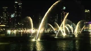 The Dubai Fountain - January 2014 Dubai Tour