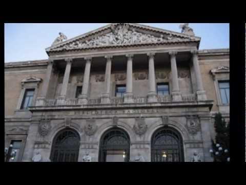 BIBLIOTECA NACIONAL -- MUSEO DEL LIBRO - Madrid [iMapDream]