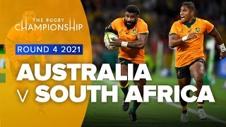 The Rugby Championship | Australia v South Africa - Rd 4 Highlights
