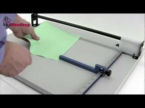 Lassco Wizer W630 Score II 19.5-Inch Scoring Machine Demo