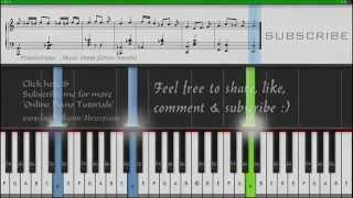 Arijit Singh - Khamoshiyan (Piano Tutorial + Music Sheet + MIDI + Piano Cover) -- Dhruv Gandhi