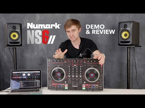 Numark NS6II - Demo & Review - 4 Channel Serato DJ Pro Controller