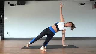 Quick and easy yoga flow ft. alex aust.