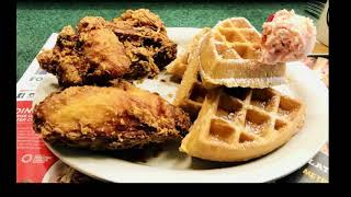 Brian Eats.  Metro Diner Fredericksburg.  The best chicken and waffles I've ever had