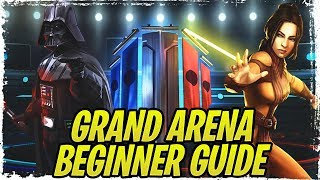 Grand Arena Guide Du Débutant + Top 5 Factions! 3v3 Escouade Stratégies! | Galaxy de Héros