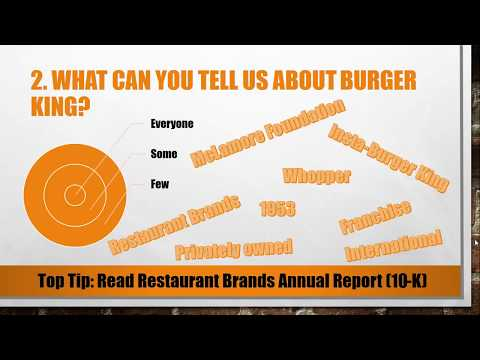 Top 5 Burger King Interview Questions and Answers - YouTube