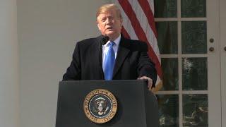 Trump declara la emergencia nacional en EEUU