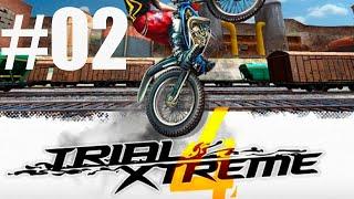 TRIAL XTREME 4 MANOBRAS DE MOTOCROOS BIKE CROS MEGA RAMPA PARA ANDROID #02