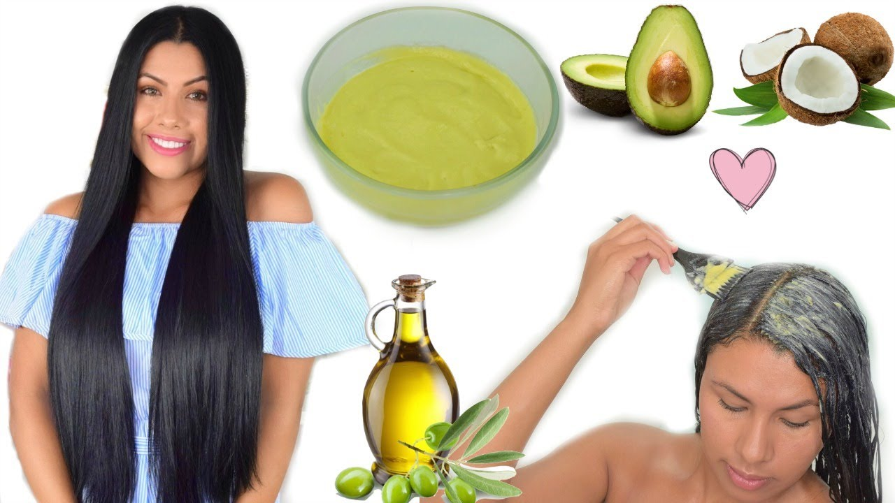 Casero cabello reseco tratamiento