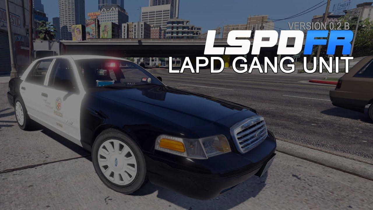 "GTA 5 LSPDFR 0.2B Patrol ""LAPD Gang Unit"" - YouTube"