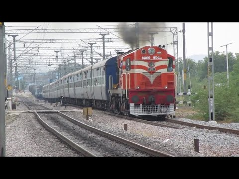 Chugging ALCO trains Departures -Indian Railways