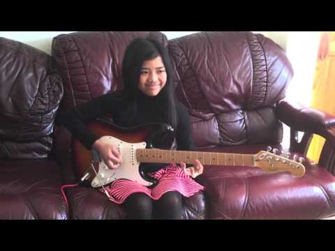 Red House by Jimi Hendrix Guitar cover | Krizten Centino