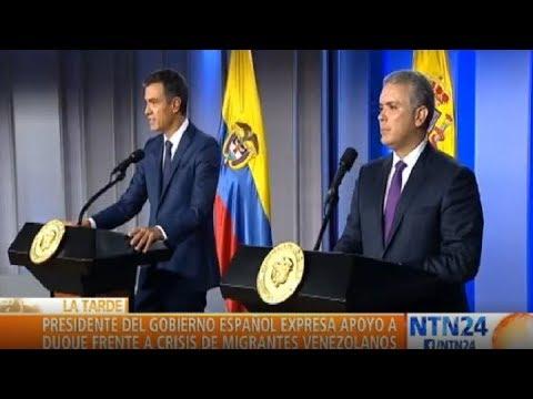 España expresa su apoyo a Colombia ante el reto migratorio por Venezuela