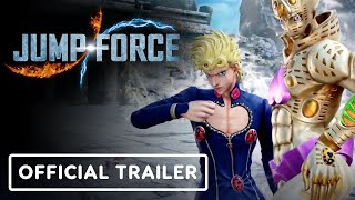 Jump Force - Official Giorno Giovanna Launch Trailer
