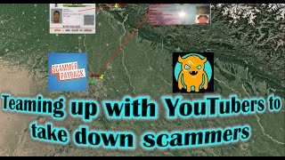 Shutting down scammers with the help of YouTubers