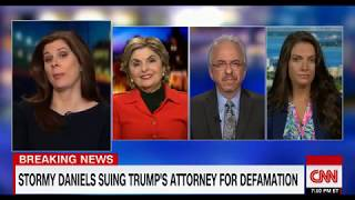 Gloria Allred Discusses on CNN Stormy Daniels Suing Trump's Attorney for Defamation