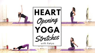 Heart Chakra Yoga Class 💚 for beginners with Katya
